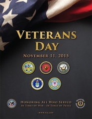2015Vets Day poster